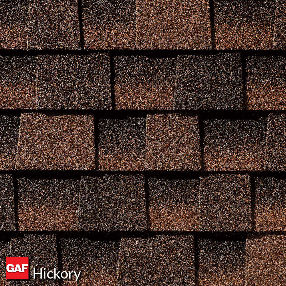 prefab log cabin roofing asphalt hickory