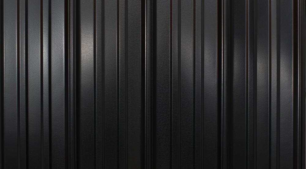 prefab log cabin roofing metal black