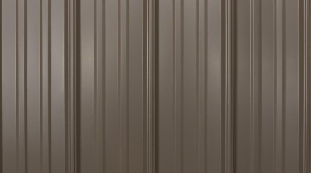 prefab log cabin roofing metal bronze