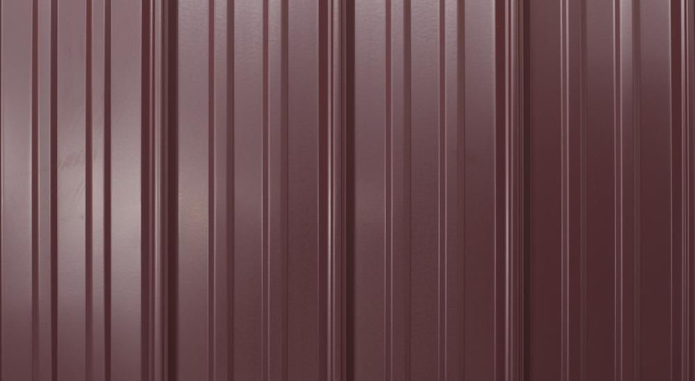 prefab log cabin roofing metal burgundy