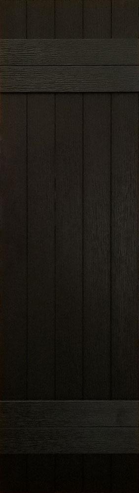 prefab log cabin shutters black