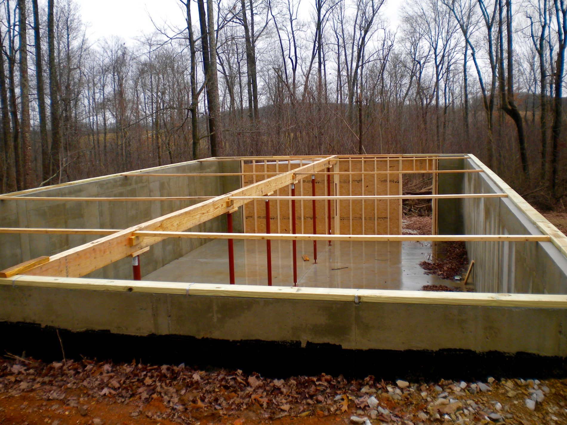 How To Build A Foundation For A Cabin