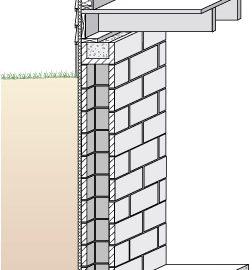 foundation for log cabin