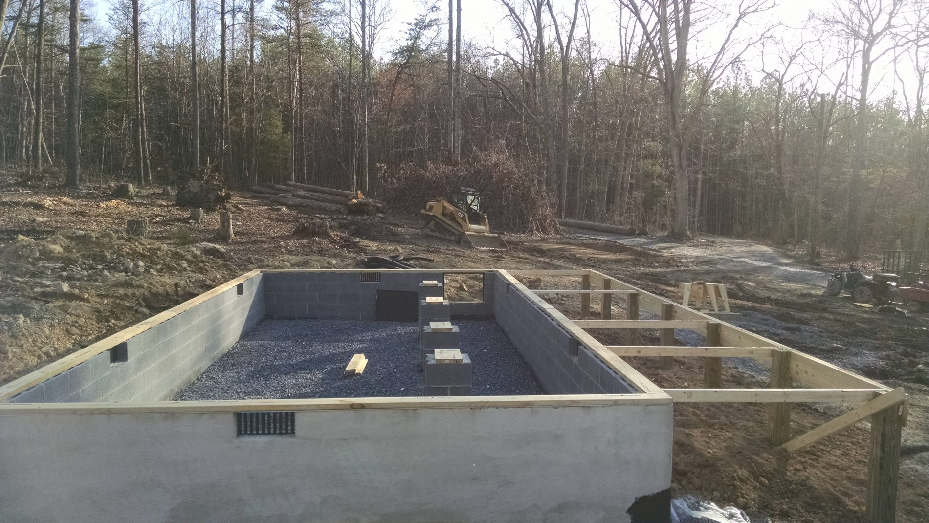 Cabin foundation how to build a foundation for a cabin for Foundation options for cabins