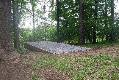 small cabin foundation