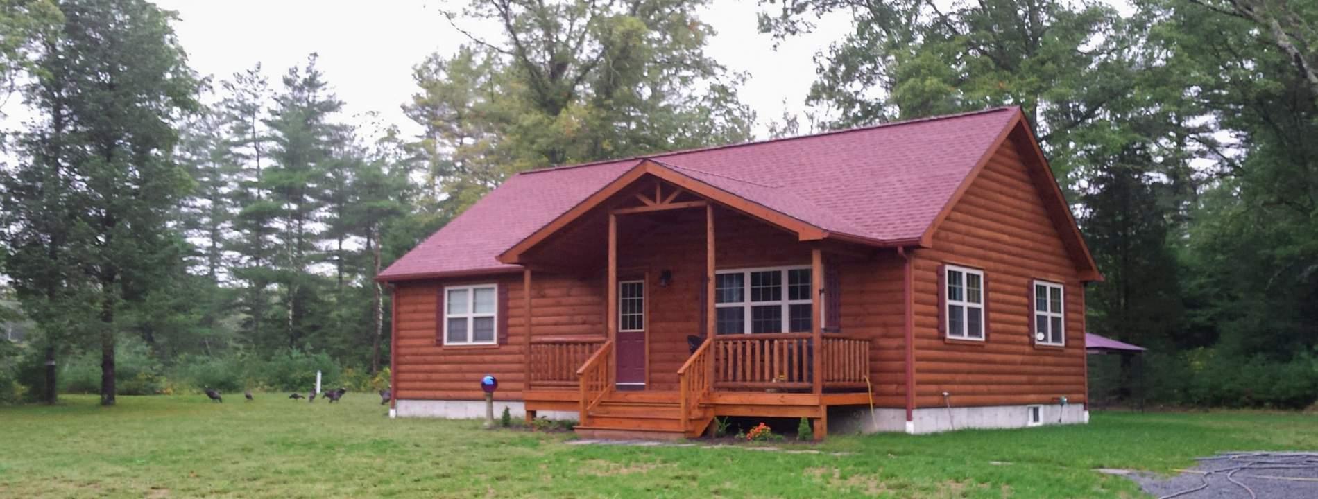 Pioneer Log Cabins 1