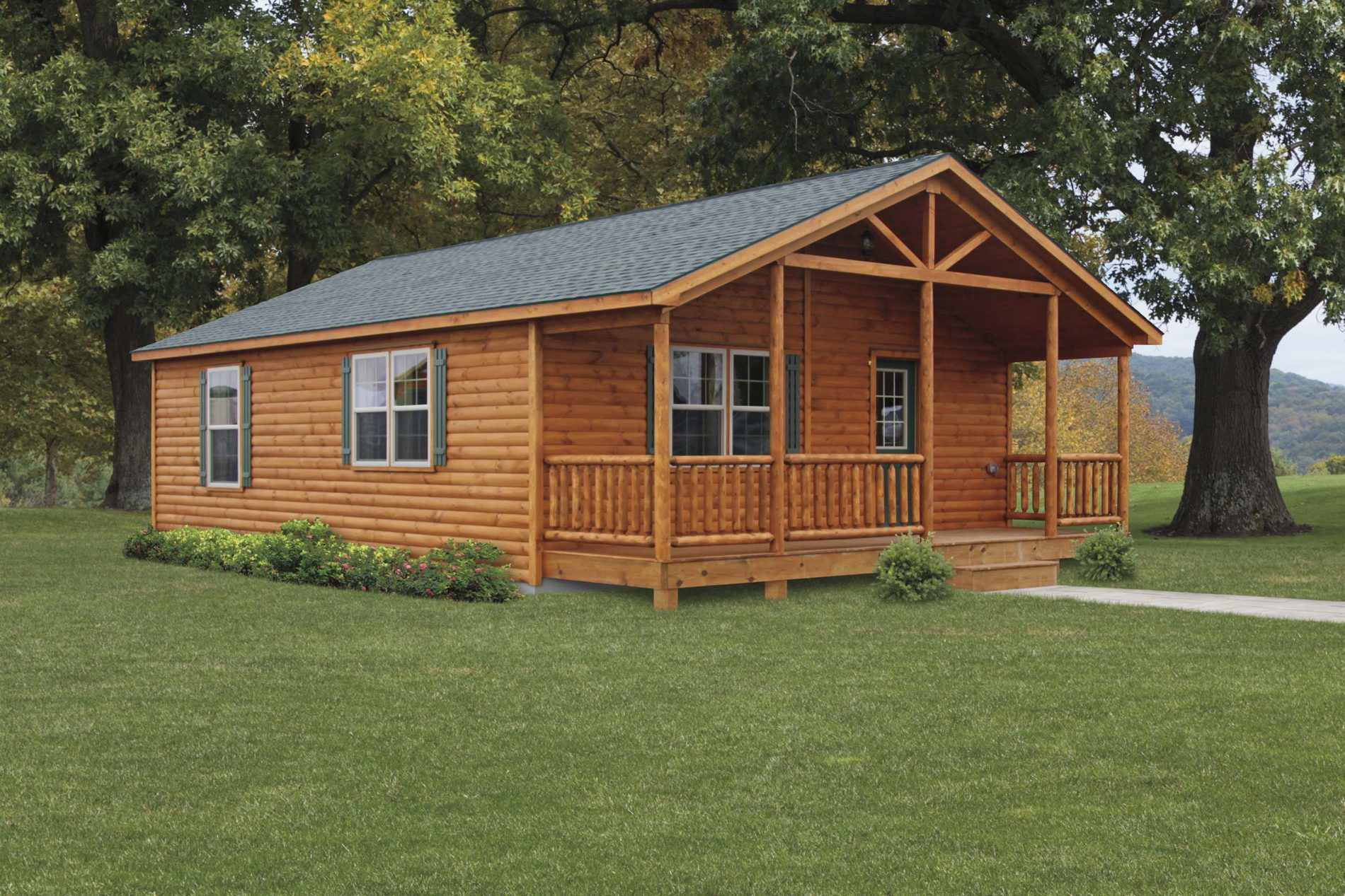 manufacturers katahdin sebec plans home homes cabins cedar cabin log