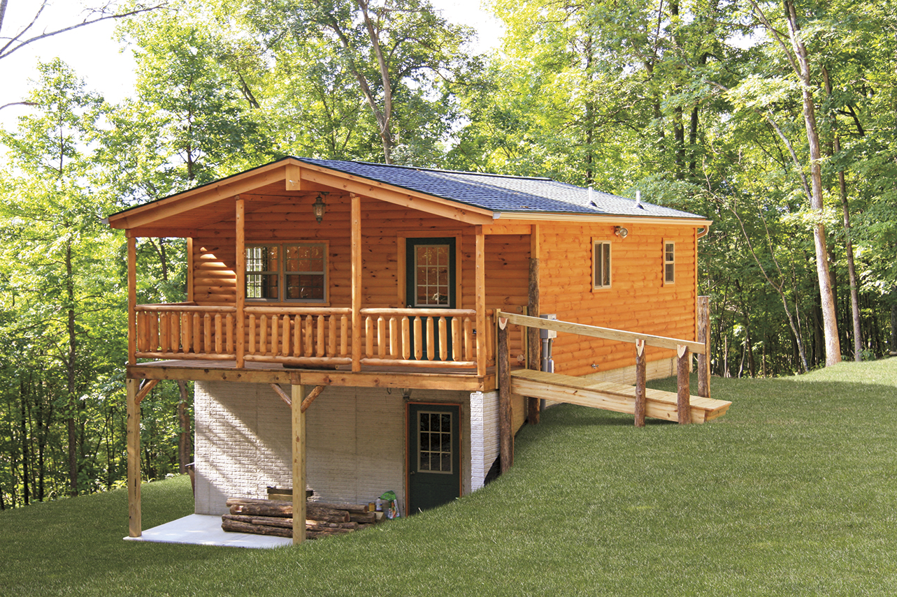 Modular log cabins prefab log cabins zook cabins for Modular cabins and cottages