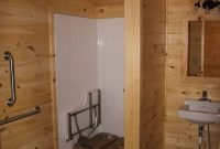 cabin with ada bathroom