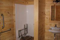 cabin with ada bathroom