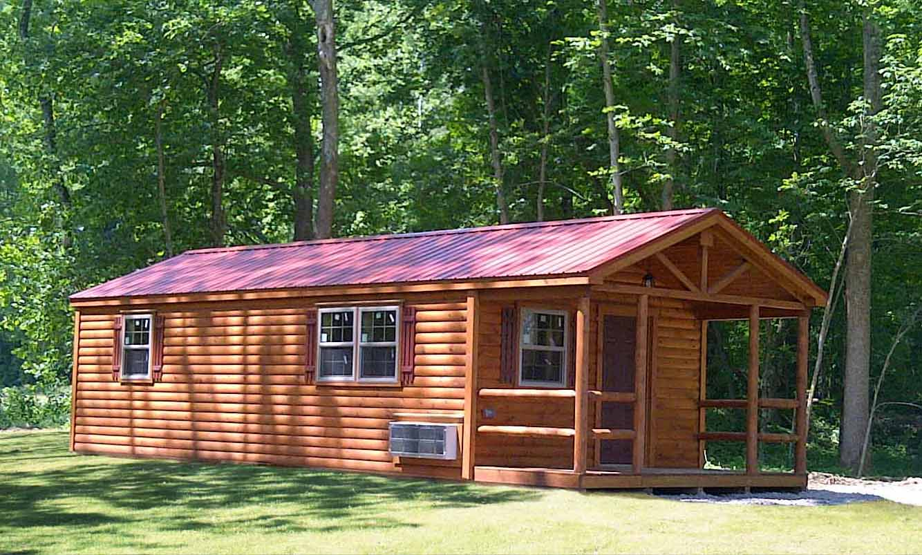 Settler Cabin | Hunting Lodge Plans | Small Cabin Plans