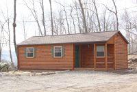 single wide log cabin custom porch