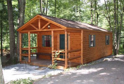 Small Hunting Cabin By Amish Prefab Cabins Company Called Zook Cabins