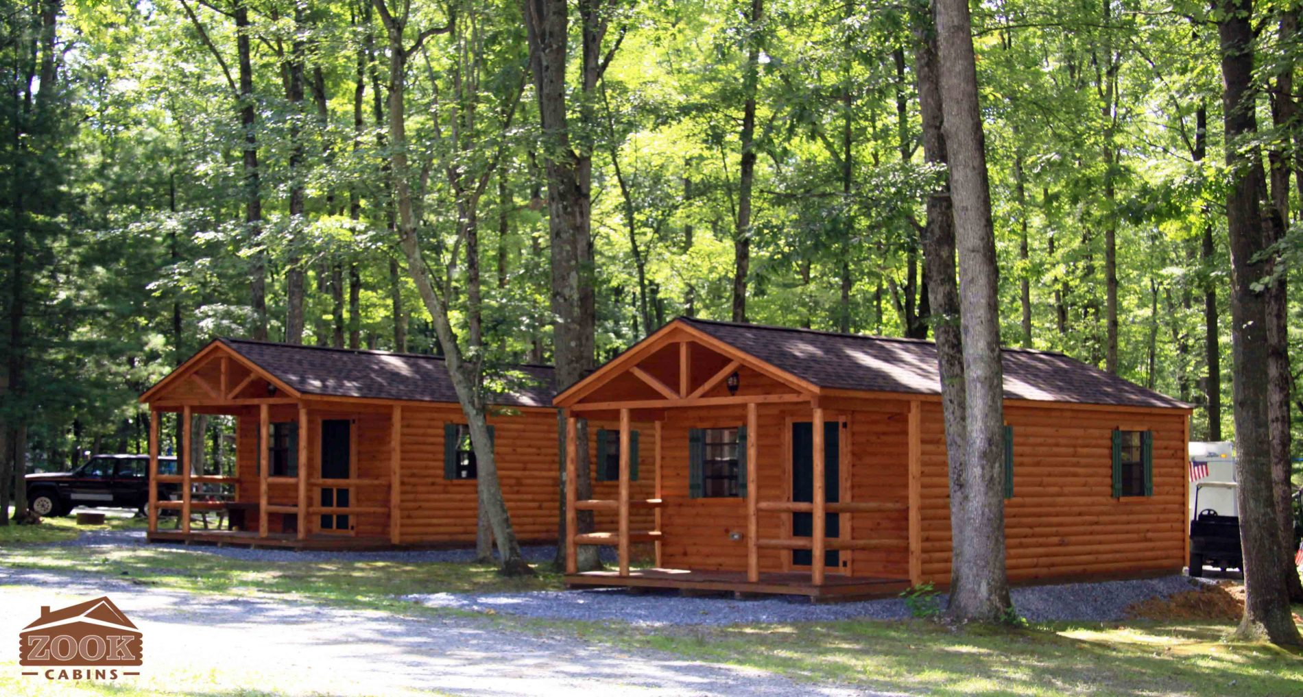 Settler Cabin | Hunting Lodge Plans | Small Cabin Plans | Zook Cabins
