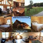 holmestead inn christian log cabin home indiana