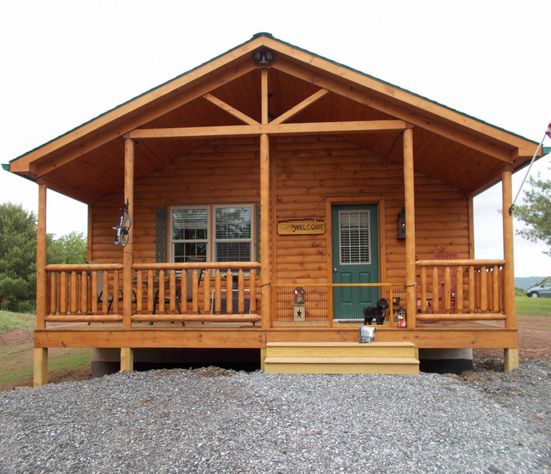 Testimonials log cabin modular homes zook cabins for Vacation log homes